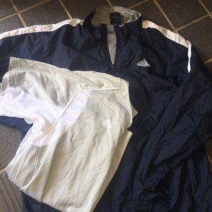 Medium adidas coat and shirt